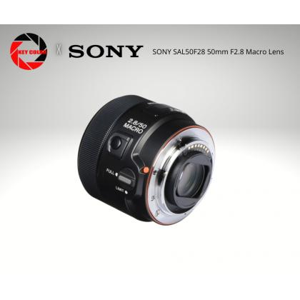 Sony SAL50F28 50mm F2.8 Macro Lens