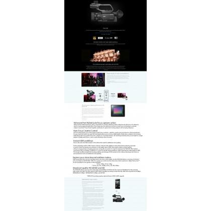 Sony PXW-Z90V 4K HDR XDCAM with Fast Hybrid AF + Sandisk Extreme Pro 64GB (Sony Malaysia Warranty)